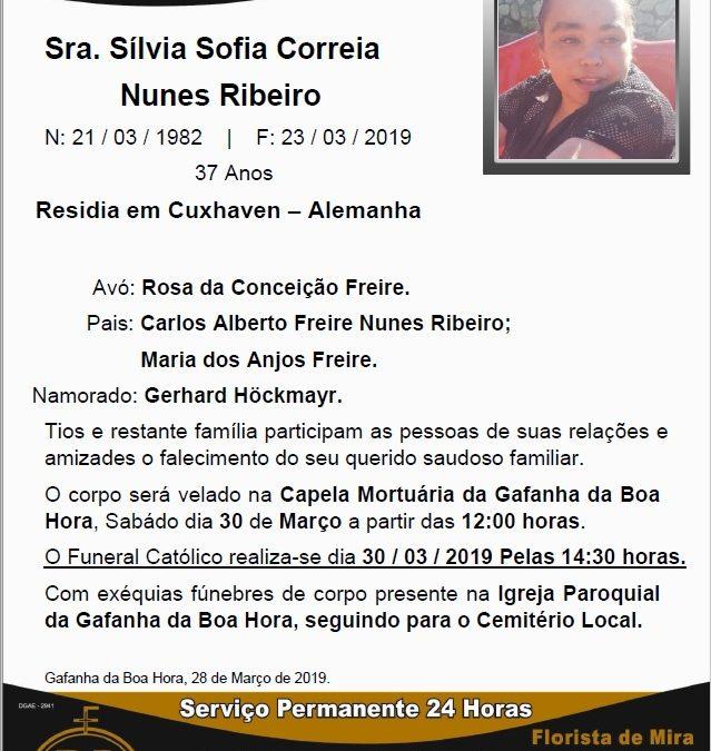 Sra. Sílvia Sofia Correia Nunes Ribeiro
