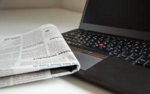 Divulgação de funerais e missas (publicação em jornais e/ou internet)