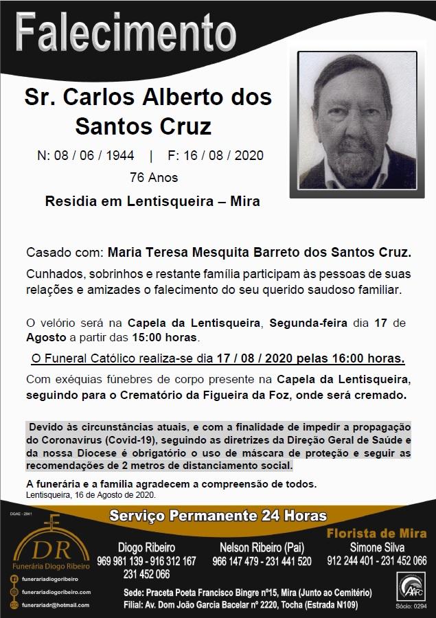 Sr. Carlos Alberto dos Santos Cruz