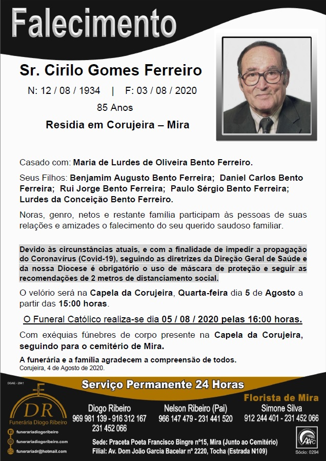 Sr. Cirilo Gomes Ferreiro