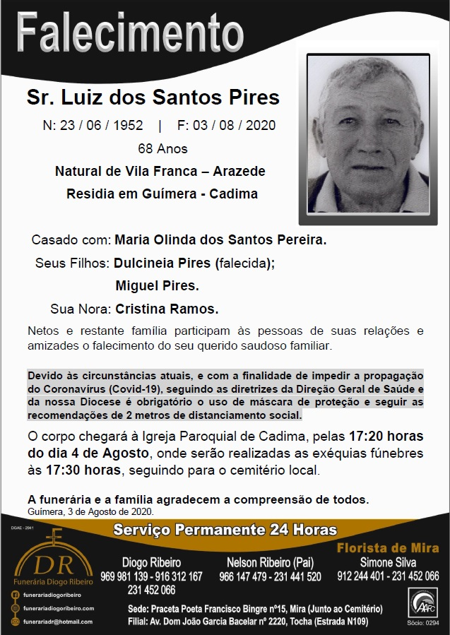 Sr. Luiz dos Santos Pires