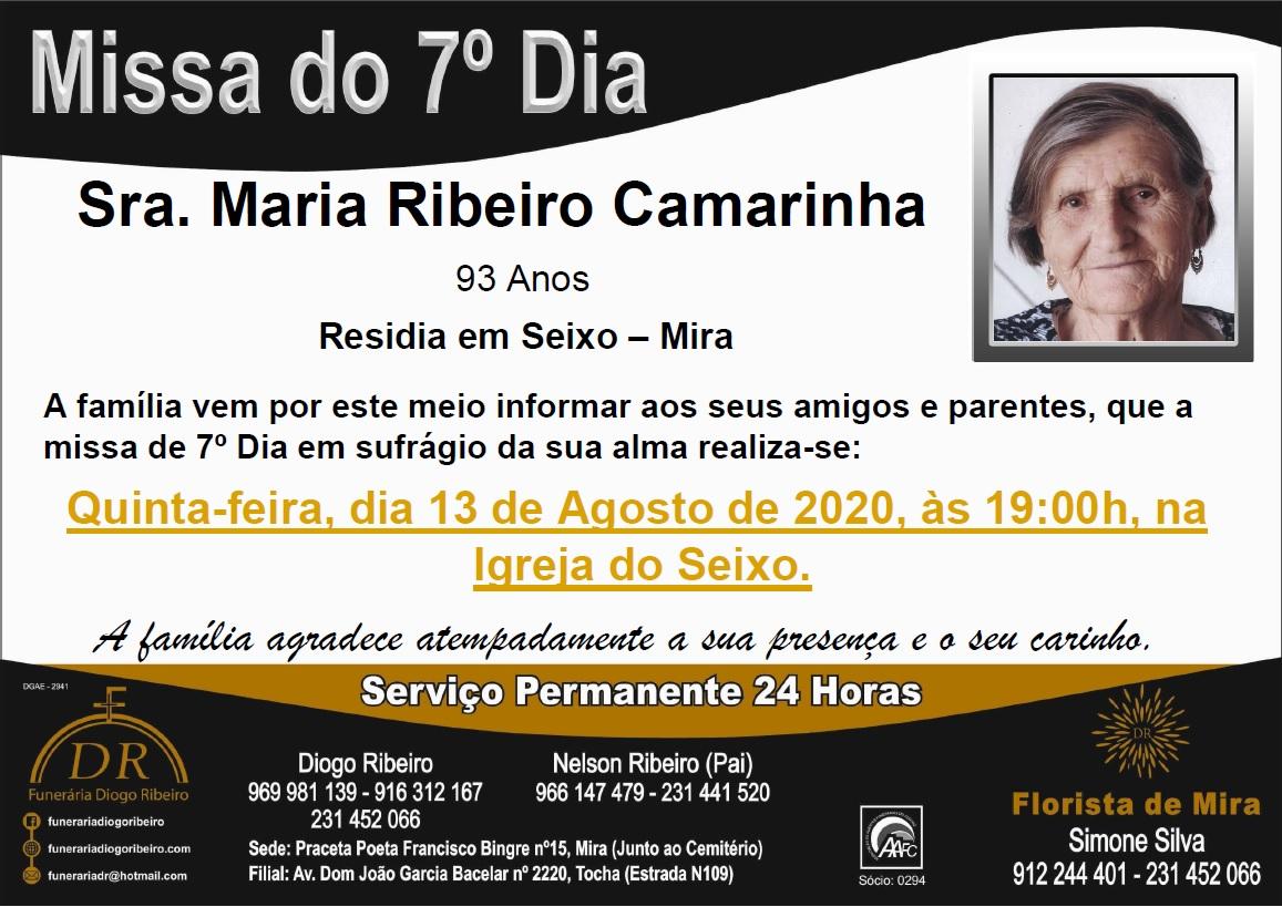Missa 7º dia Maria Ribeiro Camarinha
