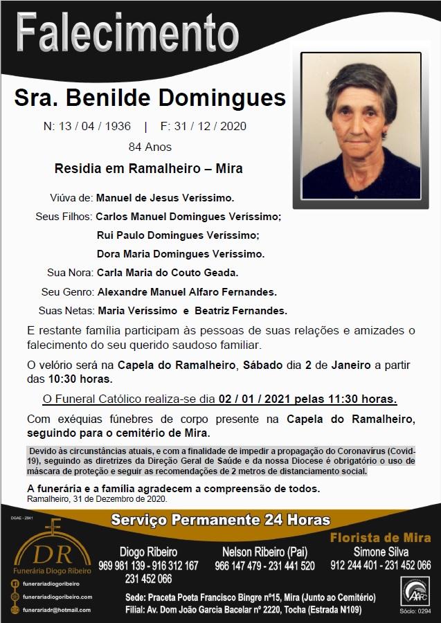 Sra. Benilde Domingues