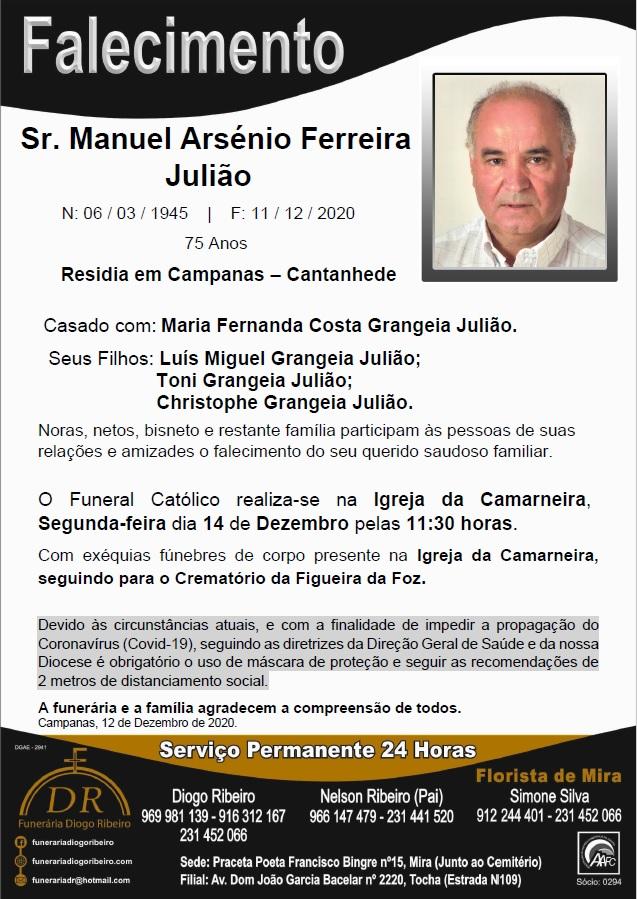 Sr. Manuel Arsénio Ferreira Julião