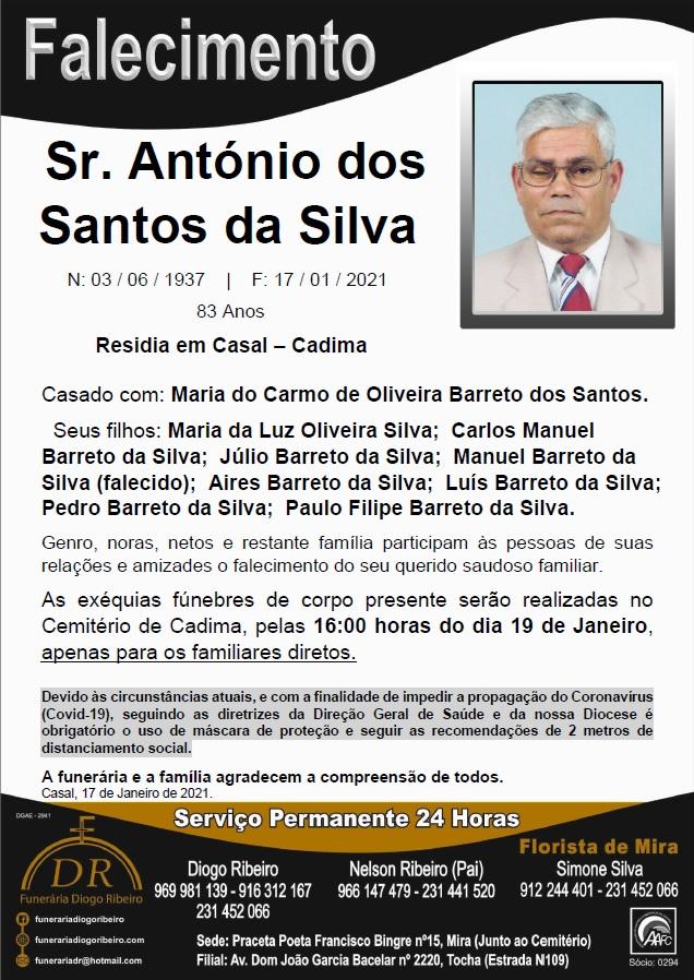 Sr. António dos Santos da Silva