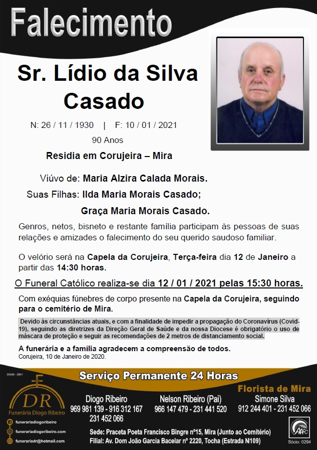 Sr. Lídio da Silva Casado