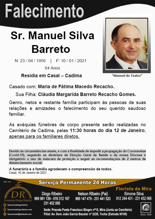 Sr. Manuel Silva Barreto
