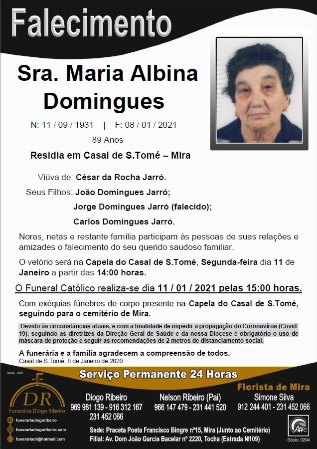 Sra. Maria Albina Domingues