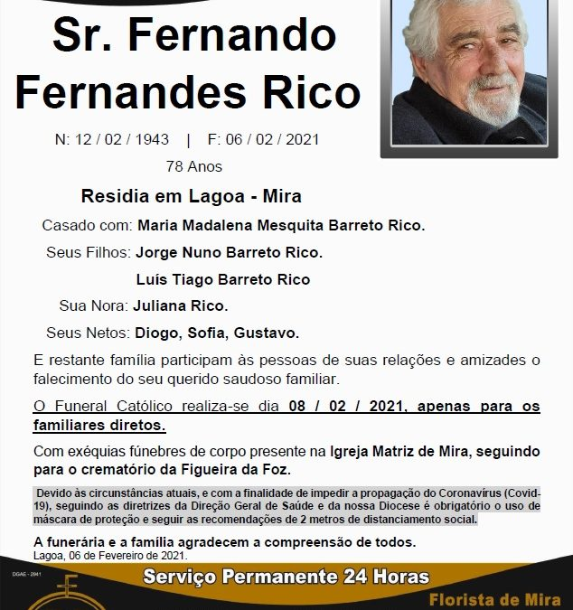 Sr. Fernando Fernandes Rico