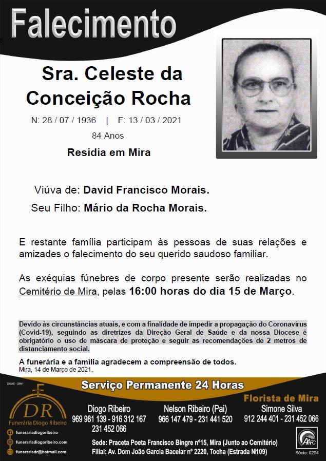 Sra. Celeste da Conceição Rocha