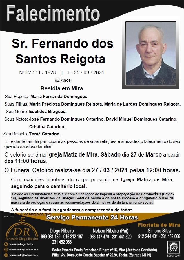 Sr. Fernando dos Santos Reigota