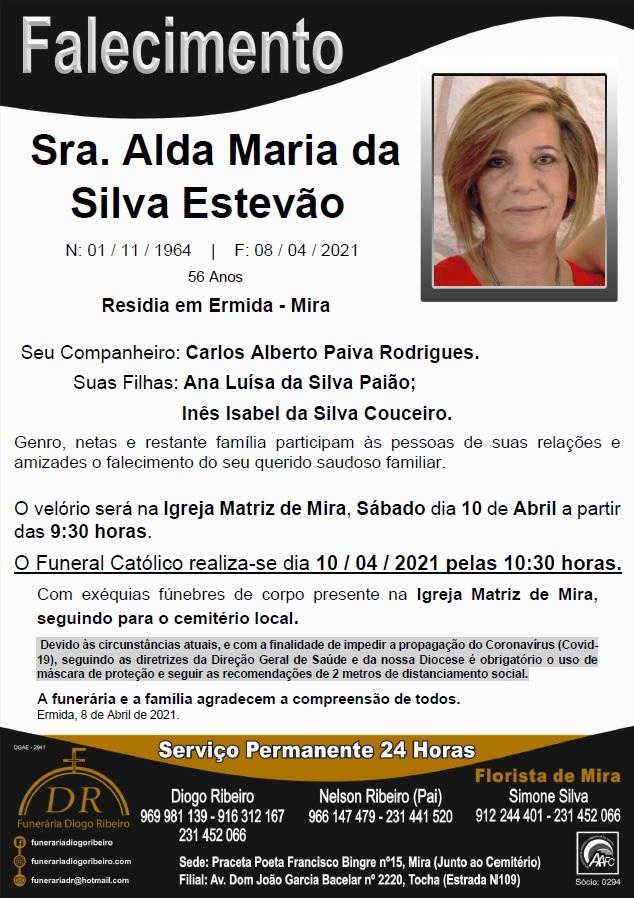 Sra. Alda Maria da Silva Estevão