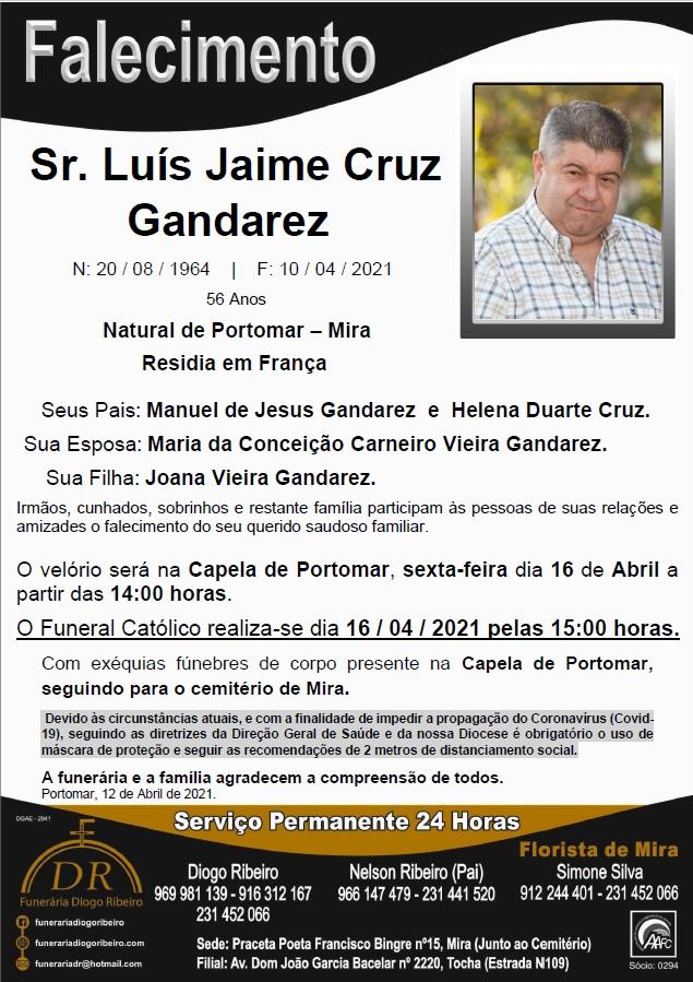 Sr. Luís Jaime Cruz Gandarez