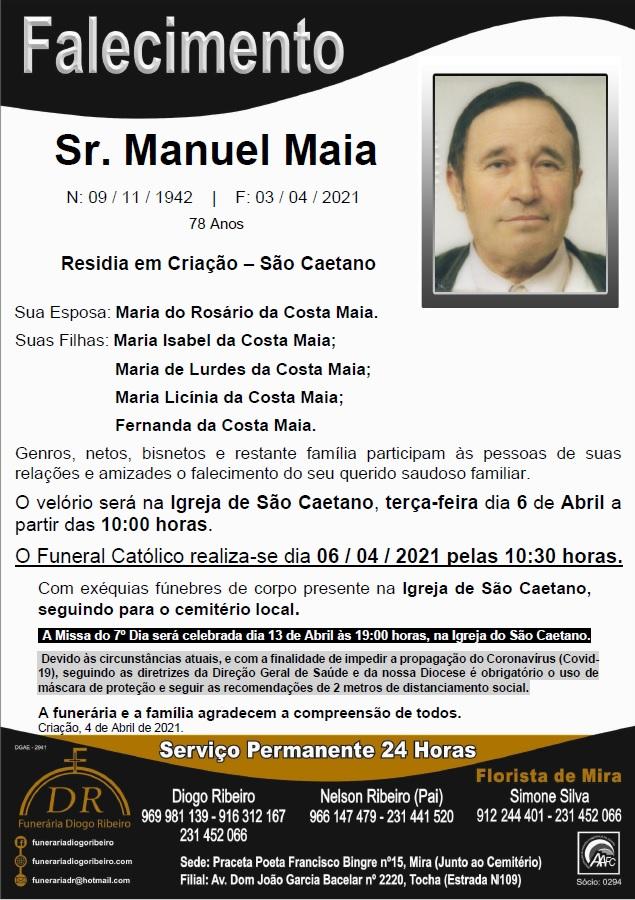 Sr. Manuel Maia