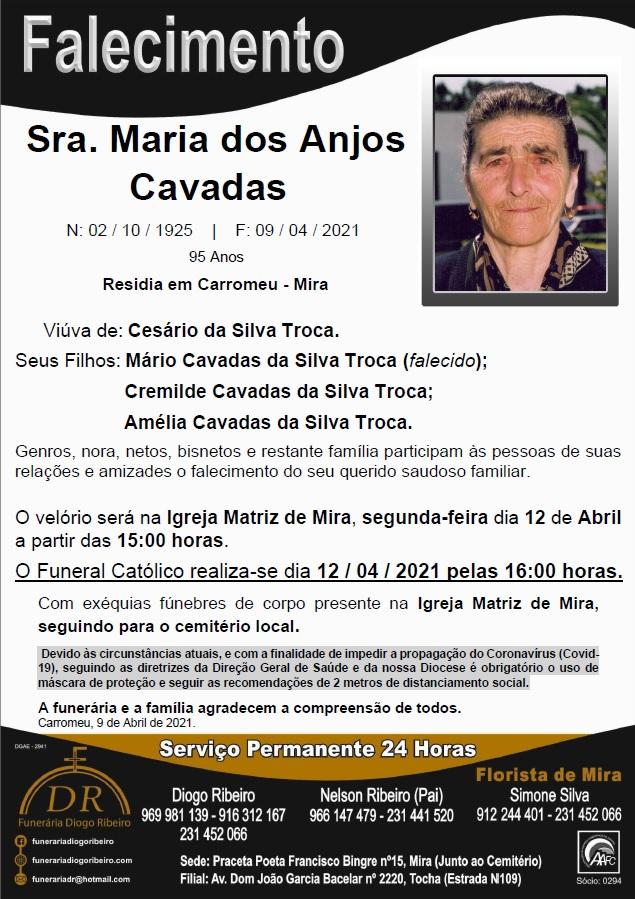 Sra. Maria dos Anjos Cavadas